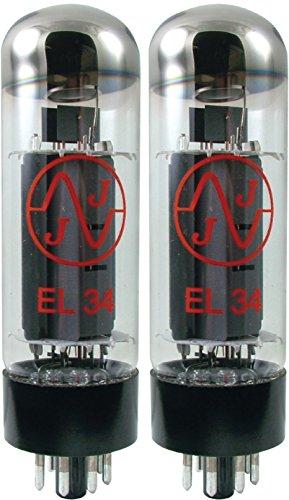 真空管 ギター・ベース アンプ 海外 輸入 JJ EL34 Burned In Vacuum Tube, Apex Matched Pair真空管 ギター・ベース アンプ 海外 輸入