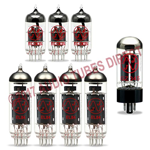 真空管 ギター・ベース アンプ 海外 輸入 EL84 ECC83S GZ34 JJ Tube Upgrade Kit For VOX AC30HW2, AC30HWH, AC30HW2X Amps EL84 ECC83S GZ34真空管 ギター・ベース アンプ 海外 輸入 EL84 ECC83S GZ34