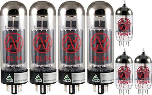 真空管 ギター・ベース アンプ 海外 輸入 4308828747 Marshall 100W Tube Set, JJ Tubes (x4 EL34, x3 12AX7), Apex Matched真空管 ギター・ベース アンプ 海外 輸入 4308828747
