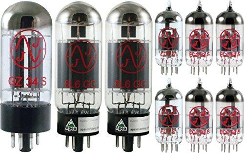 真空管 ギター・ベース アンプ 海外 輸入 Fender Super / Pro / Bandmaster Reverb Tube Set, JJ Tubes, (x2 6L6GC, x4 12AX7, x2 12AT7)真空管 ギター・ベース アンプ 海外 輸入