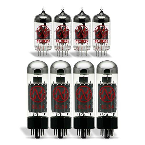 真空管 ギター・ベース アンプ 海外 輸入 EL34/ECC83S JJ Tube Upgrade Kit For Hughes & Kettner Trilogy Amps真空管 ギター・ベース アンプ 海外 輸入 EL34/ECC83S