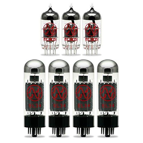 真空管 ギター・ベース アンプ 海外 輸入 EL34B ECC83S JJ Tube Upgrade Kit For Carvin XV212 & X100B EL34 Amp EL34 ECC83S真空管 ギター・ベース アンプ 海外 輸入 EL34B ECC83S