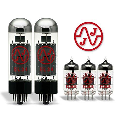 真空管 ギター・ベース アンプ 海外 輸入 EL34/ECC83S JJ Tube Upgrade Kit For VooDoo V-Plex 50 Amps EL34 ECC83S真空管 ギター・ベース アンプ 海外 輸入 EL34/ECC83S