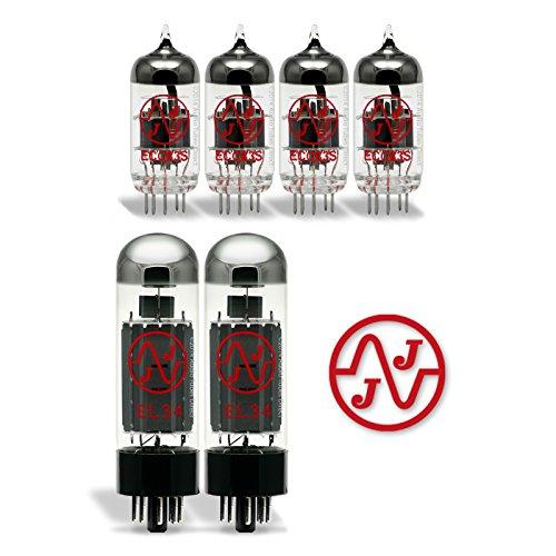 真空管 ギター・ベース アンプ 海外 輸入 EL34/ECC83S JJ Tube Upgrade Kit For Hiwatt 50 Amps EL34 ECC83S真空管 ギター・ベース アンプ 海外 輸入 EL34/ECC83S