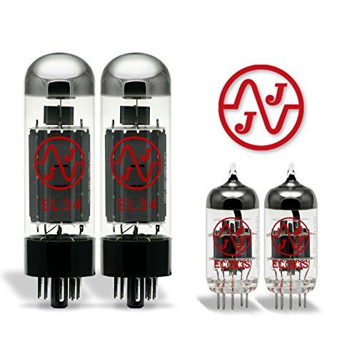 真空管 ギター・ベース アンプ 海外 輸入 EL34/ECC83S JJ Tube Upgrade Kit For Hughes & Kettner Statesman Dual EL34 Amps EL34/ECC83S真空管 ギター・ベース アンプ 海外 輸入 EL34/ECC83S