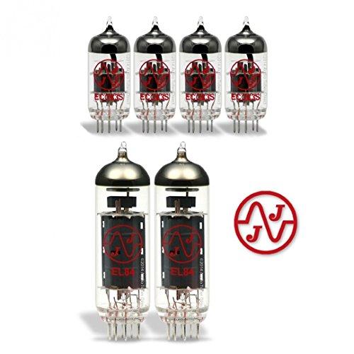 真空管 ギター・ベース アンプ 海外 輸入 EL84 ECC83S JJ Tube Upgrade Kit For Gibson GA-30 RVS Amps EL84 ECC83S真空管 ギター・ベース アンプ 海外 輸入 EL84 ECC83S