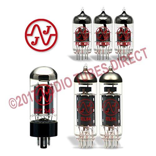 真空管 ギター・ベース アンプ 海外 輸入 EL84 ECC83S GZ34 JJ Tube Upgrade Kit For Bad Cat Cub II 15 Amps EL84 ECC83S GZ34真空管 ギター・ベース アンプ 海外 輸入 EL84 ECC83S GZ34