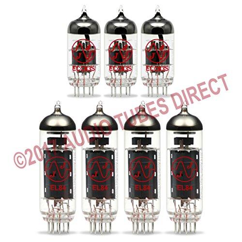 真空管 ギター・ベース アンプ 海外 輸入 EL84 ECC83S JJ Tube Upgrade Kit For Trainwreck Liverpool 30 watt 36 Amps EL84 ECC83S真空管 ギター・ベース アンプ 海外 輸入 EL84 ECC83S