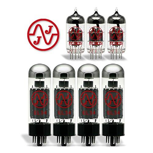真空管 ギター・ベース アンプ 海外 輸入 EL34/ECC83S 【送料無料】JJ Tube Upgrade Kit For VooDoo V-Plex 100 Amps EL34 ECC83S真空管 ギター・ベース アンプ 海外 輸入 EL34/ECC83S