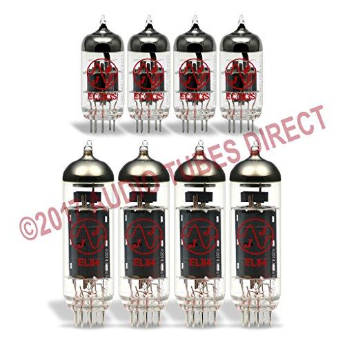 真空管 ギター・ベース アンプ 海外 輸入 EL84 ECC83S JJ Tube Upgrade Kit For Crate VC3112, VC3212 Amps EL84 ECC83S真空管 ギター・ベース アンプ 海外 輸入 EL84 ECC83S