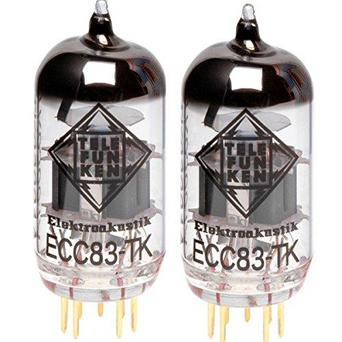 真空管 ギター・ベース アンプ 海外 輸入 Matched Pair of ECC83-TK 12AX7 TELEFUNKEN Elektroakustik Matched Pair of ECC83-TK   Black Diamond Series 9 Pin Replacement Vacuum Tube 12AX7真空管 ギター・ベース アンプ 海外 輸入 Matched Pair of ECC83-TK 12AX7
