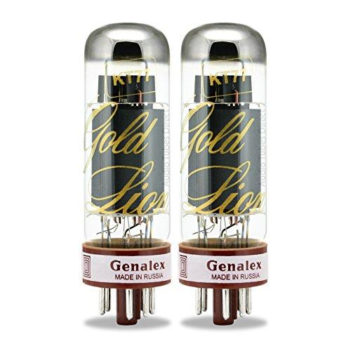 真空管 ギター・ベース アンプ 海外 輸入 KT77 Genalex Gold Lion KT77, Matched Pair (2 tubes)真空管 ギター・ベース アンプ 海外 輸入 KT77