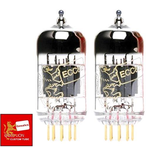 真空管 ギター・ベース アンプ 海外 輸入 4308829274 Genalex Gold Lion 12AU7 / ECC82, Matched Pair (2 tubes)真空管 ギター・ベース アンプ 海外 輸入 4308829274