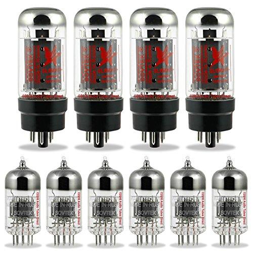 真空管 ギター・ベース アンプ 海外 輸入 6L6WXT+ 12AX7WA Sovtek Tube Kit For Fender Showman OS Amps 6L6WXT+ 12AX7WA真空管 ギター・ベース アンプ 海外 輸入 6L6WXT+ 12AX7WA