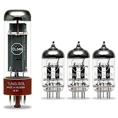 真空管 ギター・ベース アンプ 海外 輸入 6V6GT 12AX7 Tung-Sol Tube Upgrade Kit For Marshall SL5 Slash Signature Amps w EL34B 12AX7真空管 ギター・ベース アンプ 海外 輸入 6V6GT 12AX7