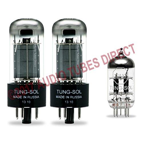 真空管 ギター・ベース アンプ 海外 輸入 6V6GT 12AX7 Tung-Sol Tube Upgrade Kit For Fender Musicmaster Bass Amps 6V6GT 12AX7真空管 ギター・ベース アンプ 海外 輸入 6V6GT 12AX7