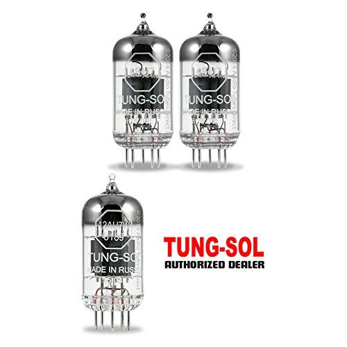 真空管 ギター・ベース アンプ 海外 輸入 6EU7/12AU7W Tung-Sol Tube Upgrade Kit For Gibson GA-4RE Amps 12AU7W 6EU7真空管 ギター・ベース アンプ 海外 輸入 6EU7/12AU7W