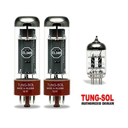 真空管 ギター・ベース アンプ 海外 輸入 EL34B 12AX7 Tung-Sol Tube Upgrade Kit For Champion R&R 20 watt Amps EL34B 12AX7真空管 ギター・ベース アンプ 海外 輸入 EL34B 12AX7