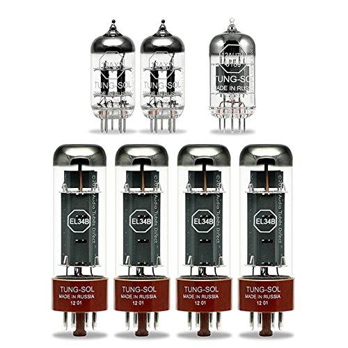 真空管 ギター・ベース アンプ 海外 輸入 EL34B 12AX7 12AU7W Tung-Sol Tube Upgrade Kit For Blackstar HT Stage 100 Amps EL34B 12AX7 12AT7W真空管 ギター・ベース アンプ 海外 輸入 EL34B 12AX7 12AU7W