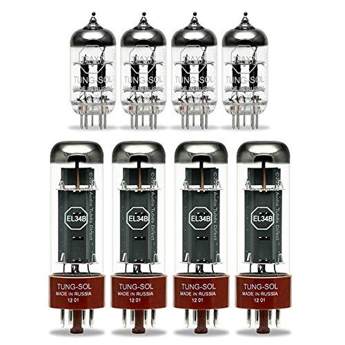 真空管 ギター・ベース アンプ 海外 輸入 EL34B 12AX7 Tung-Sol Tube Upgrade Kit For Crate V100H Amps EL34B 12AX7真空管 ギター・ベース アンプ 海外 輸入 EL34B 12AX7