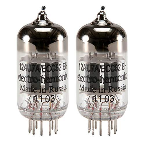 真空管 ギター・ベース アンプ 海外 輸入 12AU7 / ECC82 Electro-Harmonix 12AU7A / ECC82, Matched Pair真空管 ギター・ベース アンプ 海外 輸入 12AU7 / ECC82