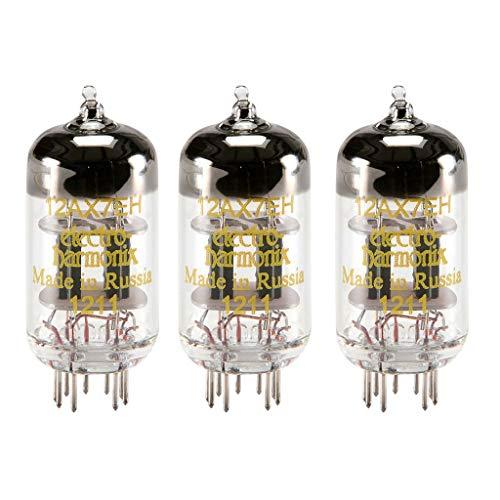 真空管 ギター・ベース アンプ 海外 輸入 4308828258 Electro-Harmonix 12AX7 / ECC83 Preamp Vacuum Tubes (Three Pack)真空管 ギター・ベース アンプ 海外 輸入 4308828258