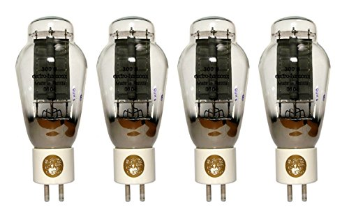 真空管 ギター・ベース アンプ 海外 輸入 300B Electro-Harmonix 300B Gold Grid, Matched Quad真空管 ギター・ベース アンプ 海外 輸入 300B