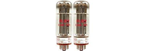 真空管 ギター・ベース アンプ 海外 輸入 TUEL34BSTR-MP Ruby EL34 Matched Power Tubes Duet真空管 ギター・ベース アンプ 海外 輸入 TUEL34BSTR-MP