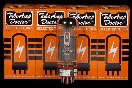 真空管 ギター・ベース アンプ 海外 輸入 Tube Amp Doctor EL34B STR Premium Selected Vacuum Tube, Matched Pair真空管 ギター・ベース アンプ 海外 輸入