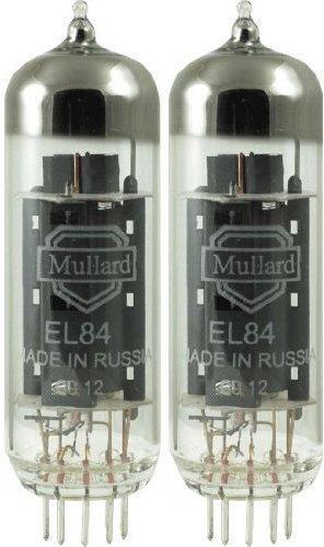 真空管 ギター・ベース アンプ 海外 輸入 4308829694 Mullard EL84, Matched Pair (2 tubes)真空管 ギター・ベース アンプ 海外 輸入 4308829694