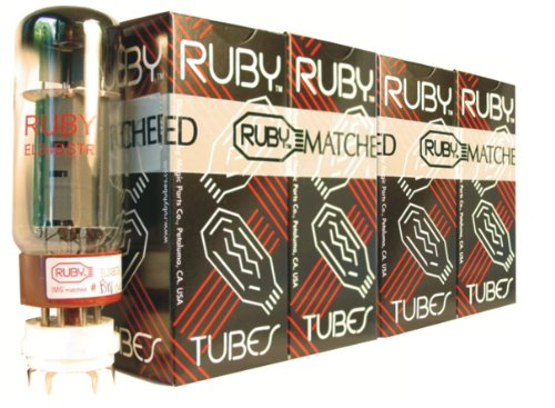 真空管 ギター・ベース アンプ 海外 輸入 EL34BSTR-MQ Ruby Tubes EL34BSTR-MQ El34 Ruby Tubes, Matched Quad Set真空管 ギター・ベース アンプ 海外 輸入 EL34BSTR-MQ