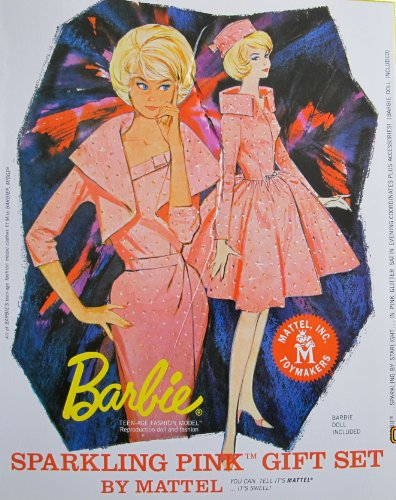 バービー バービー人形 バービーコレクター コレクタブルバービー プラチナレーベル Mattel 50th Anniversary BARBIE SPARKLING PINK DOLL Gift Set GOLD LABEL (8500 Worldwide) w TEバービー バービー人形 バービーコレクター コレクタブルバービー プラチナレーベル