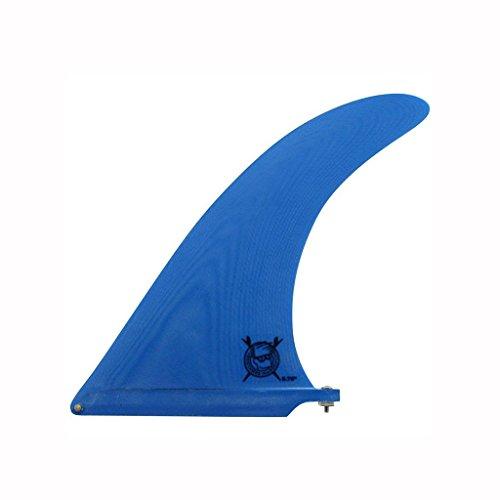 サーフィン フィン マリンスポーツ CFF0111500 Captain Fin Co. Brothers Marshall 9.75 Inch Surfboard Fin | Longboard Fin | Blueサーフィン フィン マリンスポーツ CFF0111500