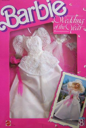 バービー バービー人形 着せ替え 衣装 ドレス 3788 【送料無料】Barbie Wedding of The Year Fashions Bride Fashions (1989 Hawthorne)バービー バービー人形 着せ替え 衣装 ドレス 3788