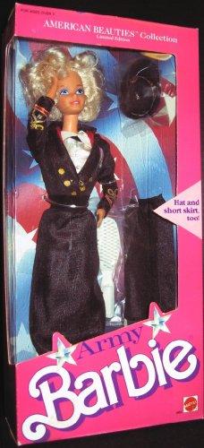 バービー バービー人形 バービーコレクター コレクタブルバービー プラチナレーベル 【送料無料】Barbie Limited Edition ARMY American Beauties Fashion Doll (1989 Mattel)バービー バービー人形 バービーコレクター コレクタブルバービー プラチナレーベル