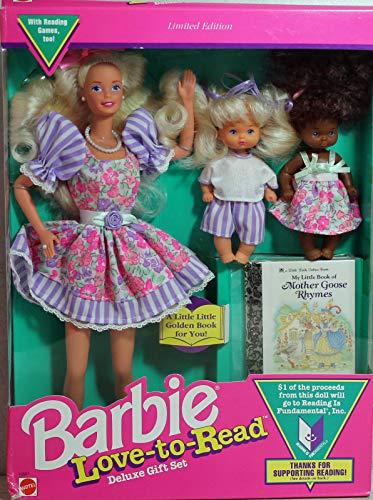 バービー バービー人形 バービーコレクター コレクタブルバービー プラチナレーベル 10507 Mattel Barbie Love to Read Deluxe Gift Set w 3 Dolls & Mini Book - Limited Editiバービー バービー人形 バービーコレクター コレクタブルバービー プラチナレーベル 10507
