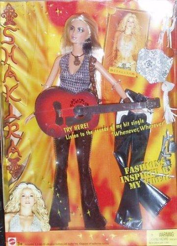 バービー バービー人形 日本未発売 Barbie 2003 Shakira + Guitar + Accessories : Listen to The Sounds of My hit Single Whenever, Wherever Fashion Inspired by My Video!バービー バービー人形 日本未発売
