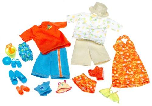 バービー バービー人形 着せ替え 衣装 ドレス C3883 Barbie Happy Family Fashions - Midge, Alan, Ryan & Nikki Clothes (2003)バービー バービー人形 着せ替え 衣装 ドレス C3883