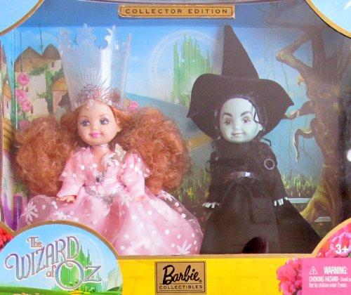 バービー バービー人形 チェルシー スキッパー ステイシー Barbie COLLECTOR Edition KELLY DOLL as GLINDA and The WICKED WITCH of the WEST The WIZARD of OZ GIFTSET (2003)バービー バービー人形 チェルシー スキッパー ステイシー