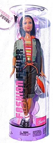 バービー バービー人形 日本未発売 Fashion Fever Kayla with Multi Colored Stripe Top, Blue Jacket and Gray Capri-Length Cords with Silver Satchel-like Purse (2004)バービー バービー人形 日本未発売