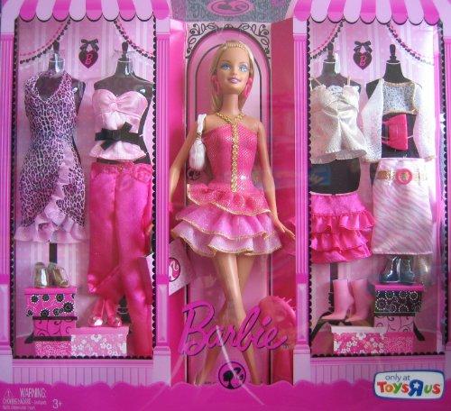 バービー バービー人形 日本未発売 プレイセット アクセサリ P8179 Barbie Doll & Fashions Giftset w 5 Outfits & Doll - Toys R Us Exclusive (2008)バービー バービー人形 日本未発売 プレイセット アクセサリ P8179