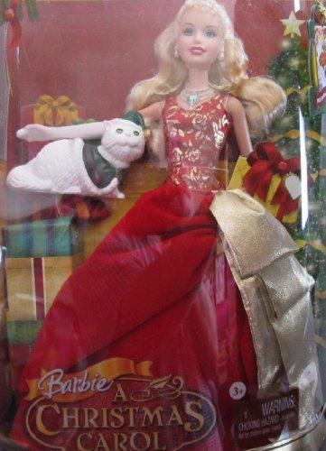 バービー バービー人形 日本未発売 N8384 BARBIE A Christmas Carol EDEN STARLING Doll w Cat Chuzzlewit (2008)バービー バービー人形 日本未発売 N8384