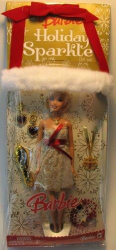 バービー バービー人形 日本未発売 ホリデーバービー M3531 Barbie Exclusive Holiday Stocking Gift Set - HOLIDAY SPARKLE with 12 Inch Tall Barbie Doll in Glamour Holiday Dress Plus Necklace, Braceleバービー バービー人形 日本未発売 ホリデーバービー M3531