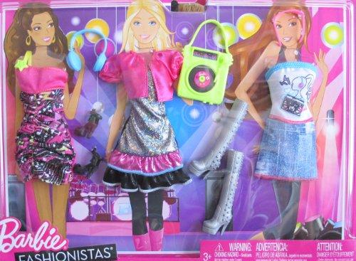 バービー バービー人形 着せ替え 衣装 ドレス Barbie Fashionistas MUSIC & FUN FASHIONS & Accessories (2011)バービー バービー人形 着せ替え 衣装 ドレス