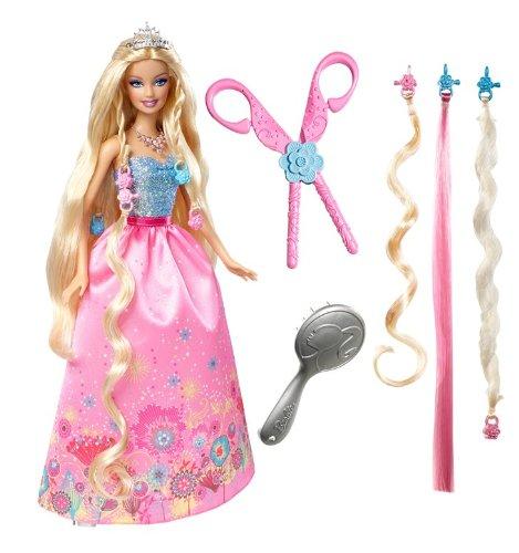 バービー バービー人形 日本未発売 プレイセット アクセサリ T7362 【送料無料】Barbie Cut N Style Princess Barbie Dollバービー バービー人形 日本未発売 プレイセット アクセサリ T7362
