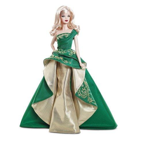 バービー バービー人形 日本未発売 ホリデーバービー Barbie Collector 2011 Holiday Dollバービー バービー人形 日本未発売 ホリデーバービー