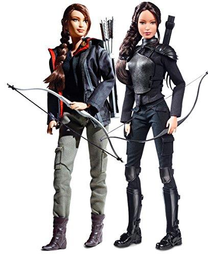 バービー バービー人形 バービーコレクター コレクタブルバービー プラチナレーベル Barbie Collector Hunger Games Katniss Everdeen Bundle of Two Collectible Dolls: 2012 Hunger バービー バービー人形 バービーコレクター コレクタブルバービー プラチナレーベル