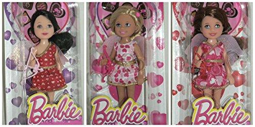 バービー バービー人形 チェルシー スキッパー ステイシー Barbie Valentine's Day 2014 Kelly Chelsea Madison Cupid Doll Set of 3バービー バービー人形 チェルシー スキッパー ステイシー