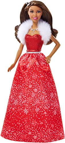 バービー バービー人形 日本未発売 ホリデーバービー CDB53 【送料無料】Barbie 2014 Holiday Doll, Brunetteバービー バービー人形 日本未発売 ホリデーバービー CDB53