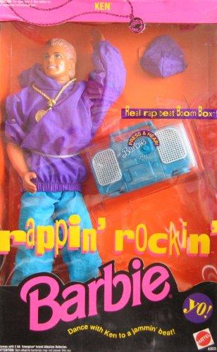 バービー バービー人形 ケン Ken 4903 Barbie Ken Rappin' Rockin' Ken with Boomboxバービー バービー人形 ケン Ken 4903